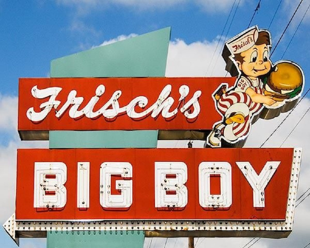 The Frisch's Big Boy chain started as Frisch's Café in Cincinnati in 1905.