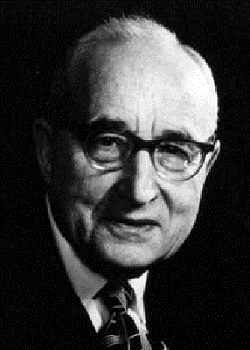 Dr. Jacob Rader Marcus (1896-1995), esteemed scholar and the founder of the American Jewish Archives.
