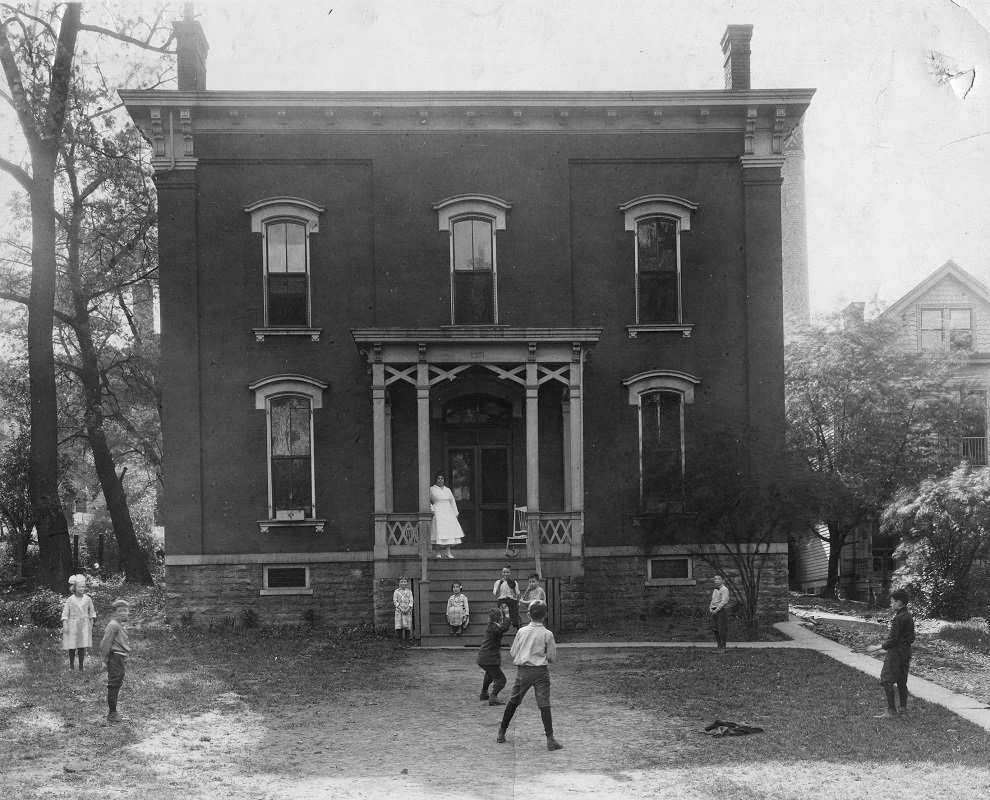 Before the Hospital opened at Betts and Cutter Streets, it operated as a combination Hospital/Orphanage. <br><br>Courtesy of The Jacob Rader Marcus Center of the American Jewish Archives, Cincinnati, Ohio.