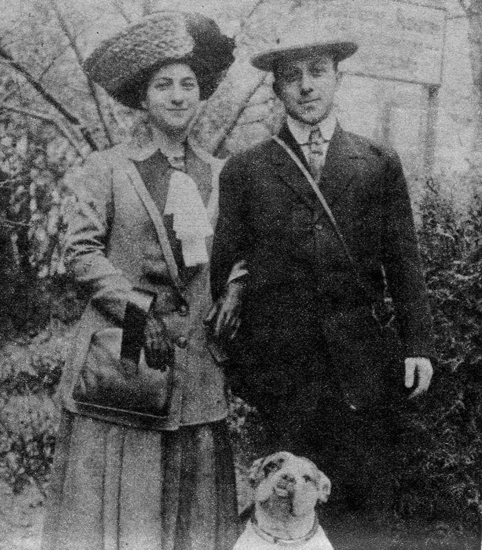 Irvin and Duffie Westheimer, 1910. <br><br>Courtesy of The Jacob Rader Marcus Center of the American Jewish Archives, Cincinnati, Ohio.