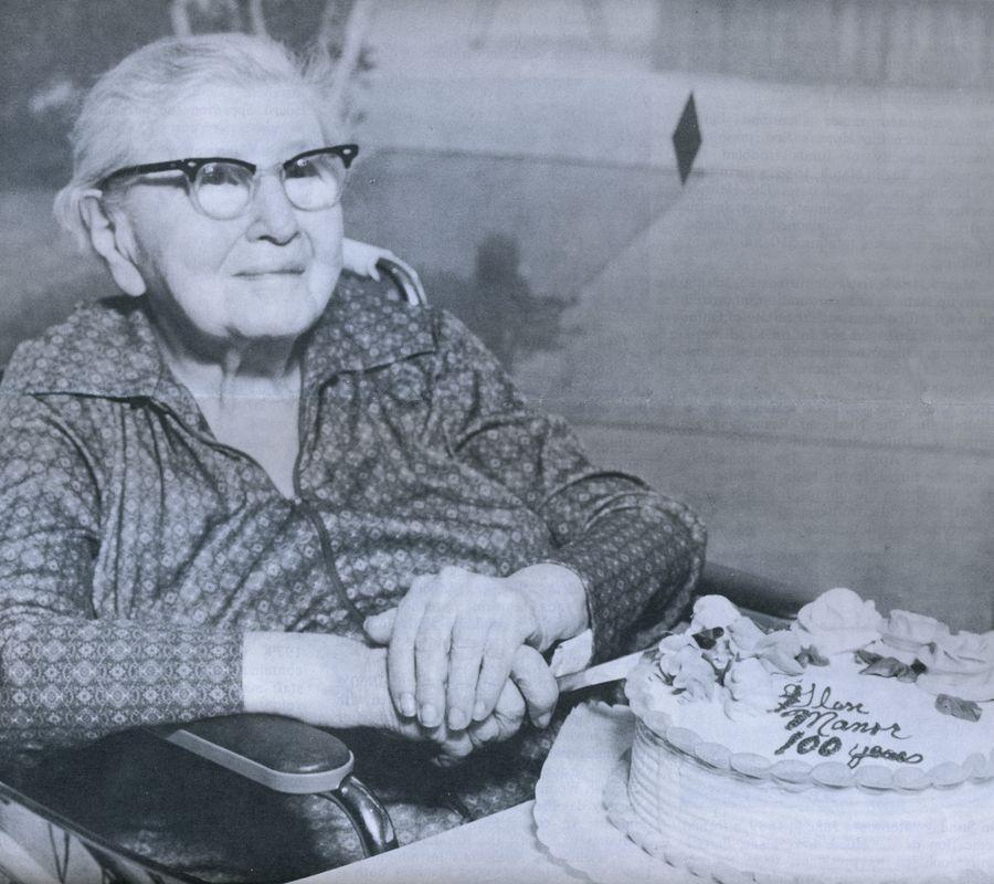 A resident celebrates their 100th birthday. <br><br>Courtesy of The Jacob Rader Marcus Center of the American Jewish Archives, Cincinnati, Ohio.