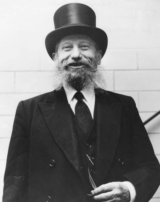 Rabbi Eliezer Silver in his 70s. <br><br>Courtesy of The Jacob Rader Marcus Center of the American Jewish Archives, Cincinnati, Ohio.
