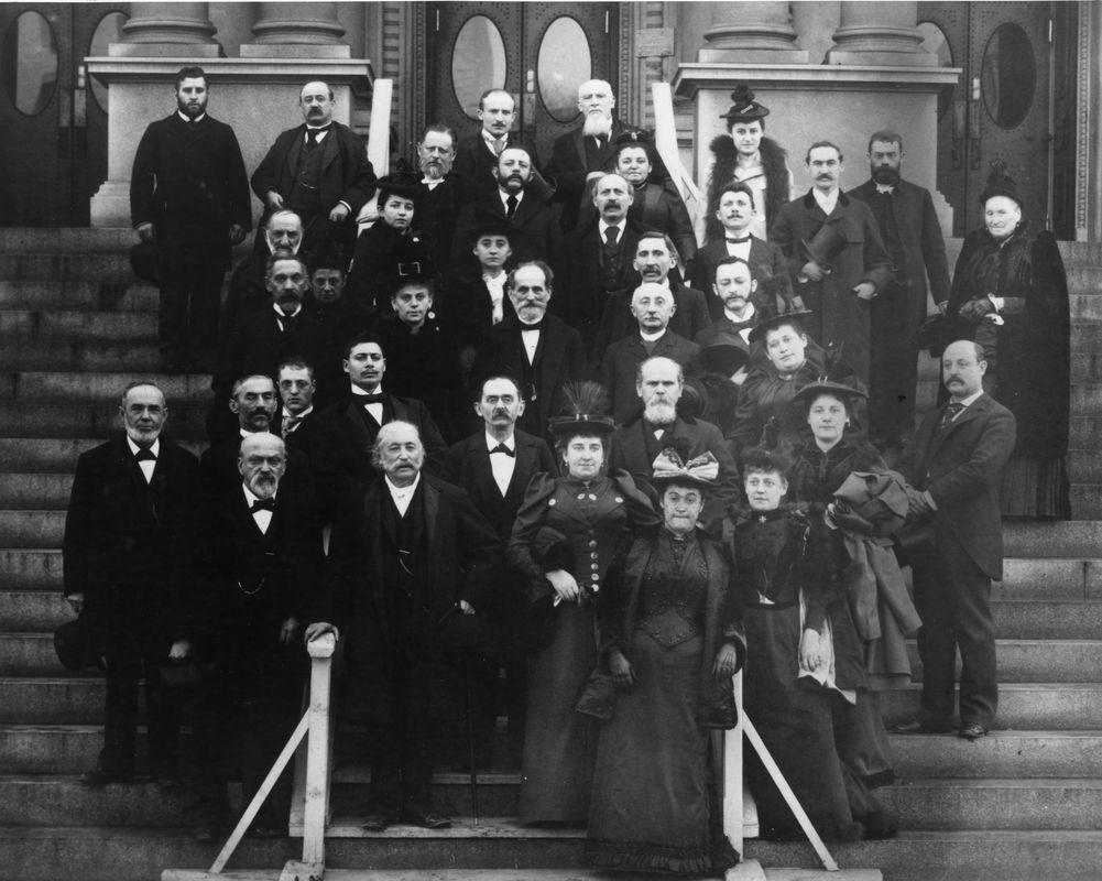 Union of American Hebrew Congregations delegates, 1873. <br><br>Courtesy of The Jacob Rader Marcus Center of the American Jewish Archives, Cincinnati, Ohio.